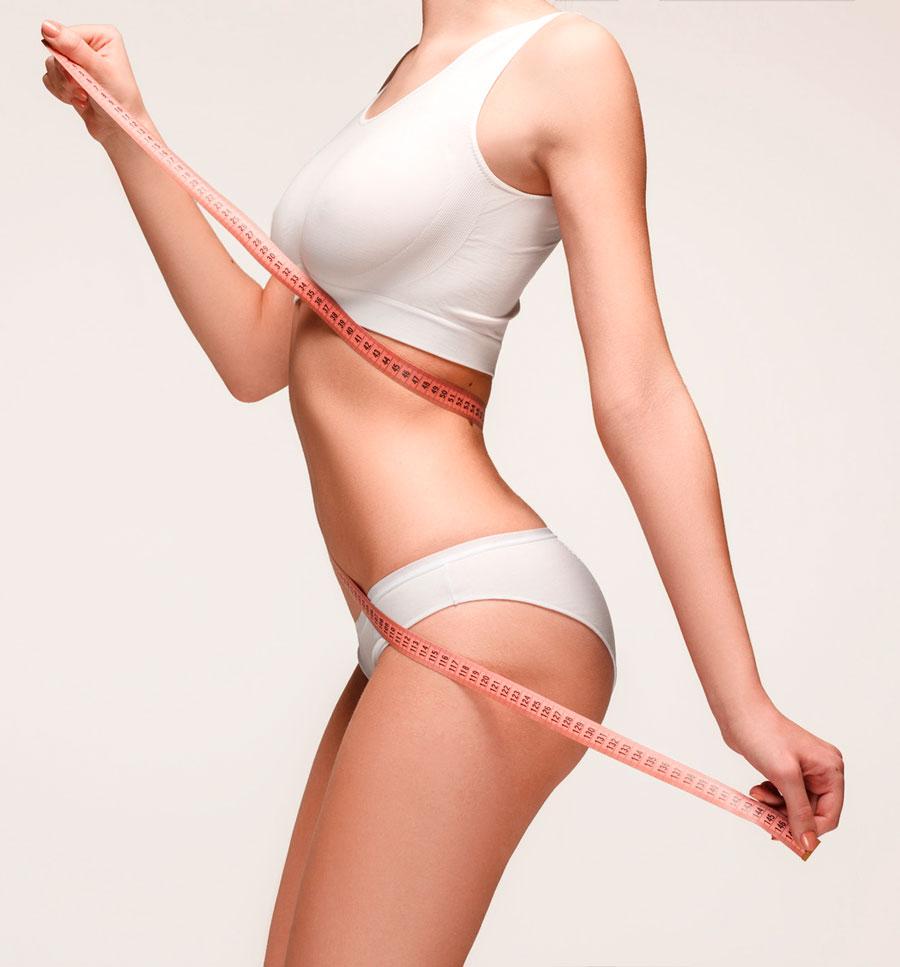 kobieta prezentująca zgrabne ciało